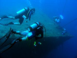 Wreck diving with Pro Dive