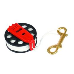 Compact reel and spool with 30m line