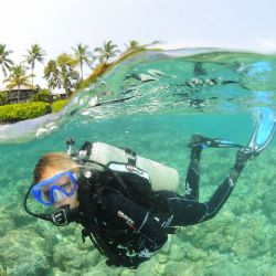 Advanced Course, 2 x Double Boat Dives & a Double Shore Dive with FREE Mask, Snorkel, Dive Boots, Fins & Bag