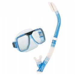 Tusa Liberator Mask and Snorkel set with corrective lenses