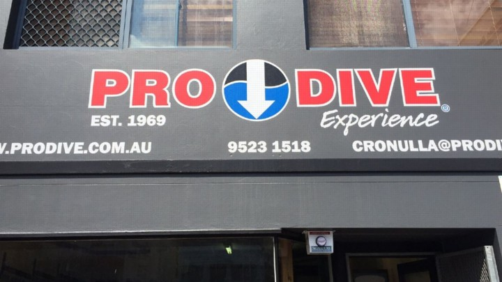 PRO DIVE Cronulla has reopened with new trading hours