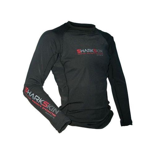 Sharkskin Rapid Dry Long Sleeve Black