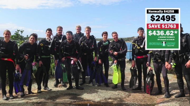 Become a Divemaster before Next Summer for Only $2495 Save $1763