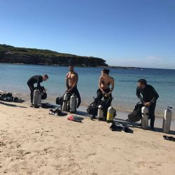 Sydney Shore Dive with Full Hire Voucher