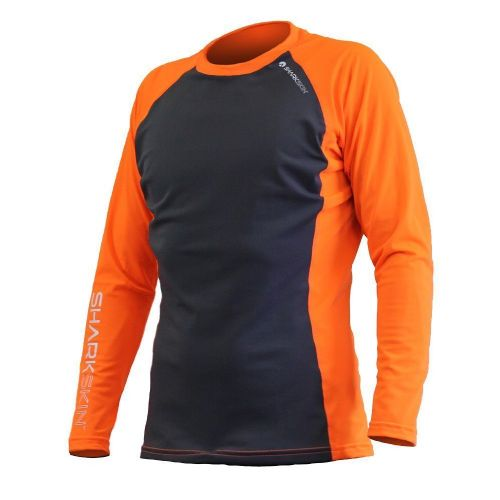Rapid Dry Long Sleeve Grey/Orange