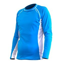 Rapid Dry Long Sleeve Blue/White
