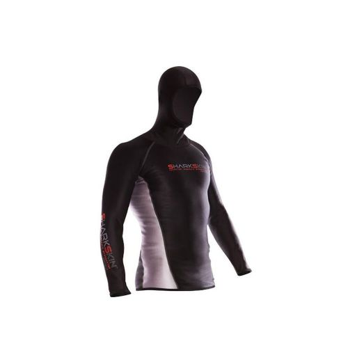 Sharkskin Chillproof Long Sleeve with Hood for Men