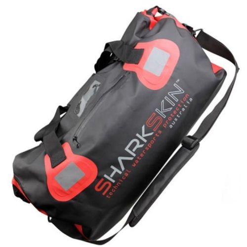 Performance Duffle Bag 40L BK/RD - Sharkskin