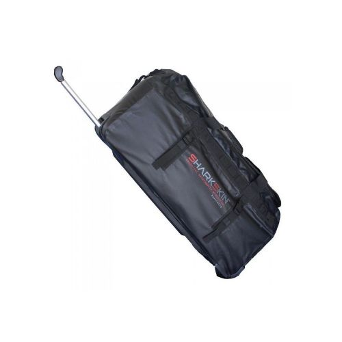 Performance Dry Wheelie Bag 90L BK - Sharkskin