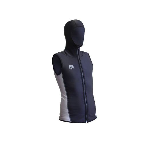 Chillproof Vest w/Hood Full Zip - Mens