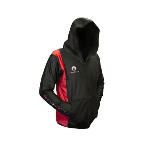 Chillproof Hooded Jacket Black/Red