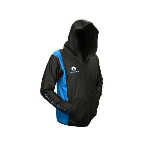 Chillproof Hooded Jacket Black/Blue