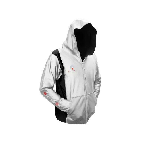 Chillproof Hooded Jacket Black/White