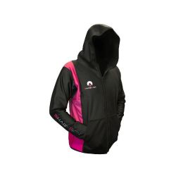 Chillproof Hooded Jacket Black/Pink