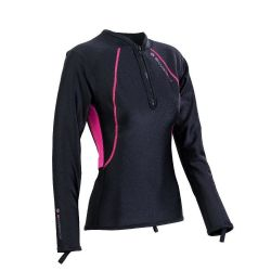 Chillproof Long Sleeve Chest Zip - Womens