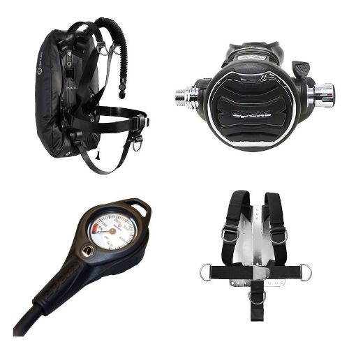 Apeks Deluxe Web Harness + XTX200 SCUBA Set (Online Only)