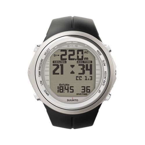 Suunto DX Silver Elastomer with USB