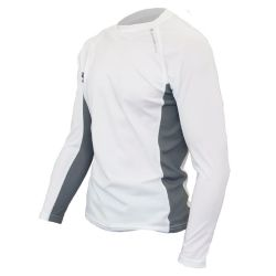 Rapid Dry Long Sleeve White