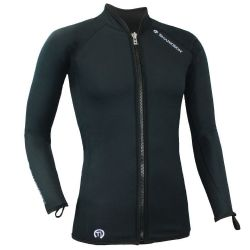Titanium chillproof long sleeve full zip - men