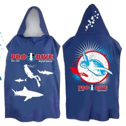 PRO DIVE Hooded Towel