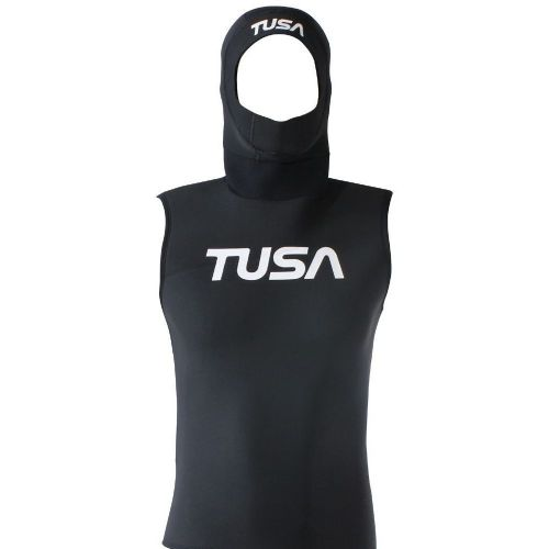 Tusa Unisex Hooded Vest - 3mm
